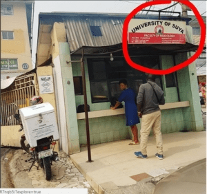 WTF? University of Suya Spotted Somewhere in Nigeria (Photo)